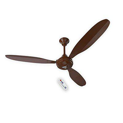 Superfan SUPER X1B 1200 mm/48-inch Energy Efficient 35W BLDC Ceiling Fan with Remote Control (Brown)