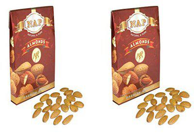 NAP Premium Quality Almonds Pack of 2 (250 g Each)