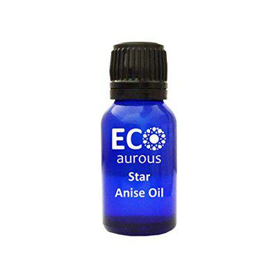 Star Anise Oil 100% Natural, Organic, Vegan & Cruelty Free Star Anise Essential Oil   Star Anise Oil   Anise Oil By Eco Aurous Wit Euro Dropper (10 ml)