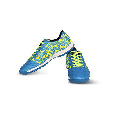 Vector X Discovery Indoor Football Shoes (Blue-Green) (Size-6)