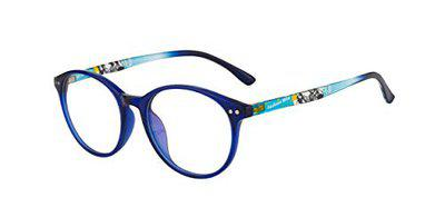 Ted Smith Full Rim Round Unisex Spectacle Frame - (TS-TR-9282_C5|52)