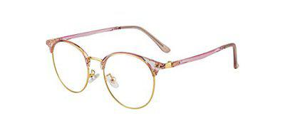 Ted Smith Full Rim Round Unisex Spectacle Frame - (TS-TR-9398_C22|49)