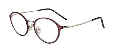 Ted Smith Full Rim Round Unisex Spectacle Frame - (TS-TR-9290_C6|49)