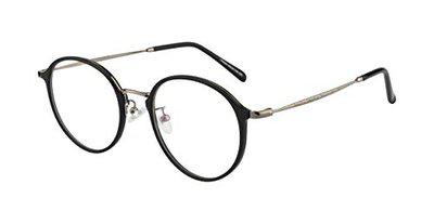 Ted Smith Full Rim Round Unisex Spectacle Frame - (TS-TR-9384_C1|50)
