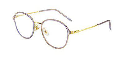 Ted Smith Full Rim Round Unisex Spectacle Frame - (TS-TR-9299_C6|50)