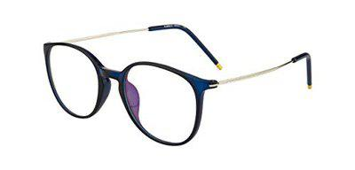 Ted Smith Full Rim Round Unisex Spectacle Frame - (TS-88037_C9|49)