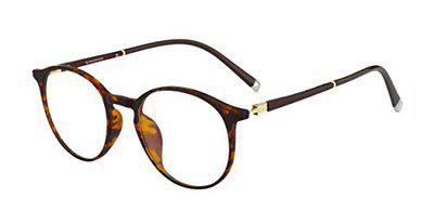 Ted Smith Full Rim Round Unisex Spectacle Frame - (TS-TR-9233_C1|48)