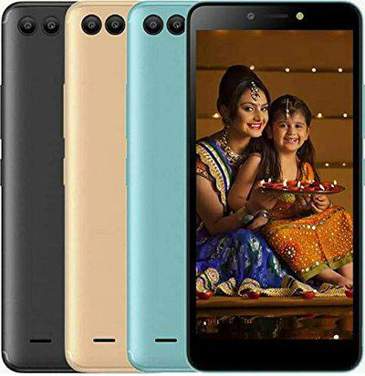 itel bbmtelecom A44 Power 5.45-inch Touchscreen Display Smartphone with 1.4GHz Quad-Core Processor (Dual-SIM, Champagne Gold, 1GB RAM, 8GB Internal)