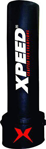 XPEED Free Standing Bag for Kickboxing 72inches Black Hard Punching MMA Training