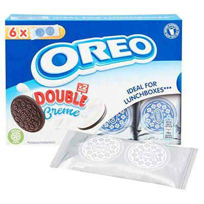 Oreo Double Creme Sandwich Biscuit Box, 170g