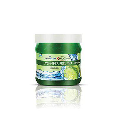gemblue biocare Cucumber peel off mask For all Skins for Men And Women.