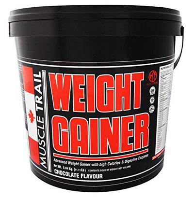 Muscle Trail weight Gainer - 5 Kg (Chocolate Flavour)