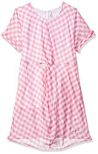 Pepe Jeans Cotton Dress (PG951281_Pink_4-5 Years)