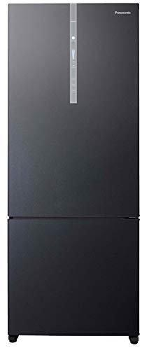 Panasonic 450 L 3 Star Inverter Frost-Free Double-Door Refrigerator (NR-BX468XGX3, Black Glass)