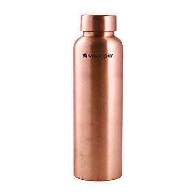 Wonderchef Cu Pure Single Wall Water Bottle, 1000ml