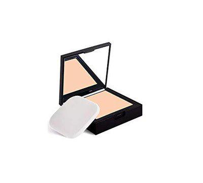 Nykaa SKINgenius Skin Perfecting and Hydrating Matte Powder Compact (Natural Ivory 01) -9 g