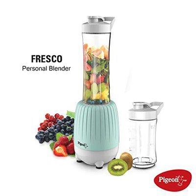 Pigeon by Stovekraft Fresco Portable Personal Blender for Smoothie and Protein Shake, a Smart Smoothie and Shake Maker for Home