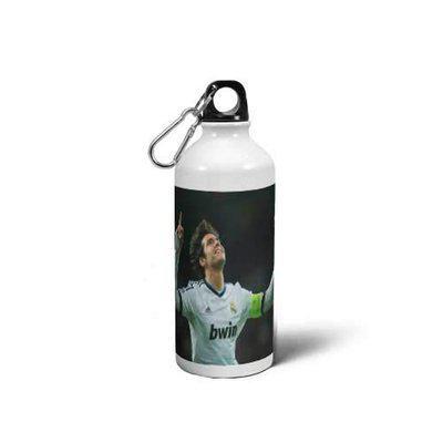 Sipper Bottle-Kaka Printed Aluminium Sipper Water Bottle.Gift for Friend Brother Sister Boyfriend Girlfriend Kids, White (600 ml Pack of 1)