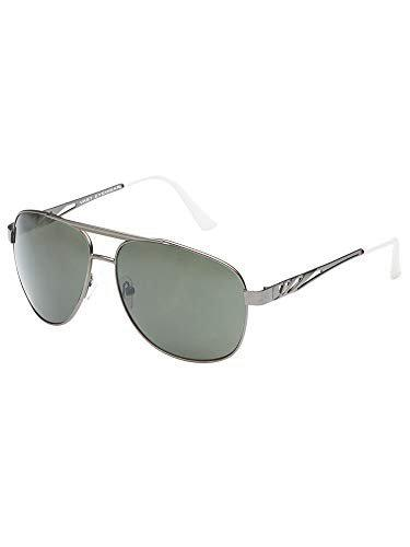 Vast Polycarbonate Unbreakable Lens UV Protection Unisex Aviator Sunglasses AVIATOR (WHITE)