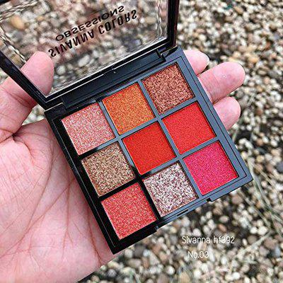 sivanna colors Makeup 6 Colors Eyeshadow 03