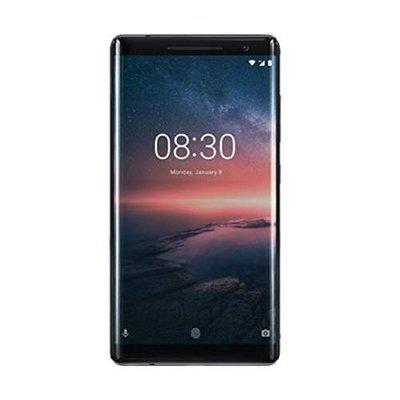 (Renewed) Nokia 8 Sirocco Smartphone(6 GB/12MP/13MP Camera, Wide-angle Front Camera, Dual sight mode, Qualcomm Snapdragon, 4G/3G) - Black