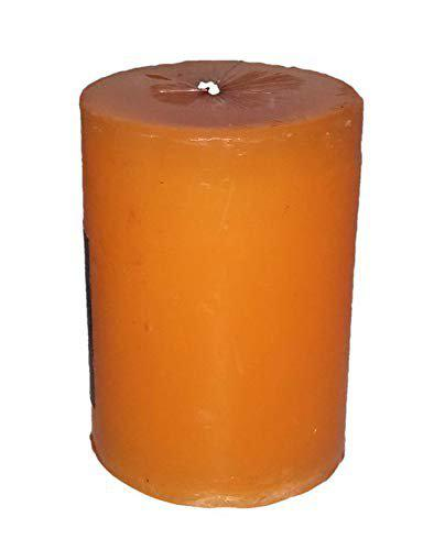 Glitters Aromatic Big Block Candle with Vanilla Fragrance- Made in Thailand, SPA/Saloon Candles, Decorate Your House, Office, Cafe, Birthday Gifts, Events, Party, House Warming Candles