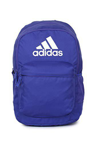 Adidas Unisex Blue Classic Pocketl Backpack