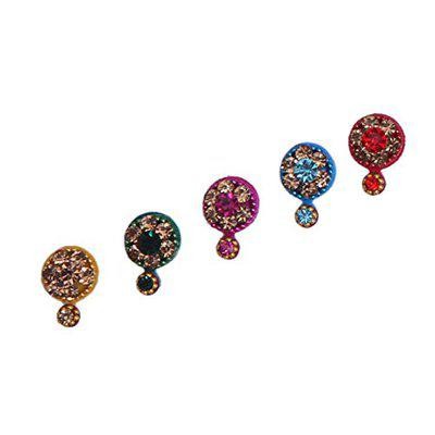 Sunaina New Love Collection Round Multicolor Bindis for Women [NLC543]