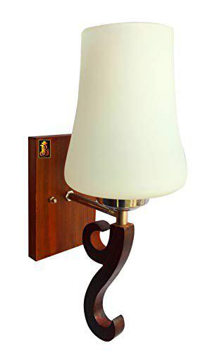 BrightLyt Wooden Decorative Surface Mounted Classic Wall Lamp/Light/Sconce for Bedroom etc