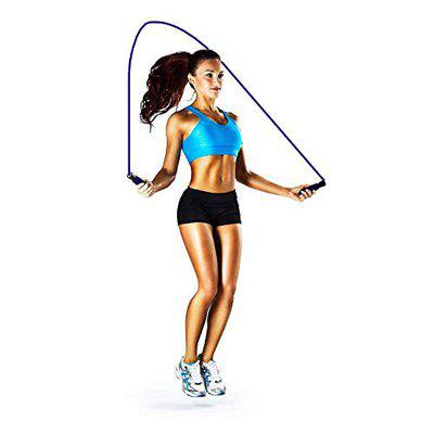 Aryshaa Skipping-Rope Jump Skipping Rope for Men, Women, Weight Loss, Kids, Girls, Children, Adult - Best in Fitness, Sports, Exercise, Workout (Pack of 2)