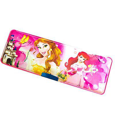 GOYAL Favourite Character Magnetice Locking Pencil Boxes / Pencil Cases - Rapunzel