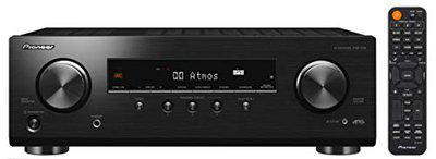 Pioneer VSX-534 5.2-CH AV Receiver with 3.1.2ch Dolby Atmos, DTS:X, Dolby Atmos Height Virtualizer, DTS Virtual:X, Dialog Enhancement, Bluetooth, 4K Ultra HD Upscaling, HDCP 2.2, HDR10, Dolby Vision