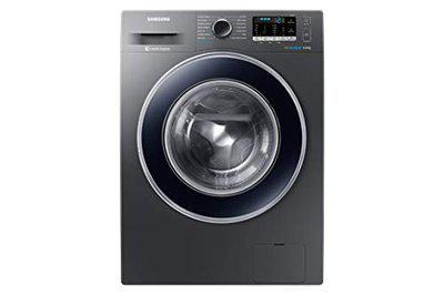Samsung 8 Kg Fully-Automatic Front Loading Washing Machine (WW80J54E0BX/TL, Blue)
