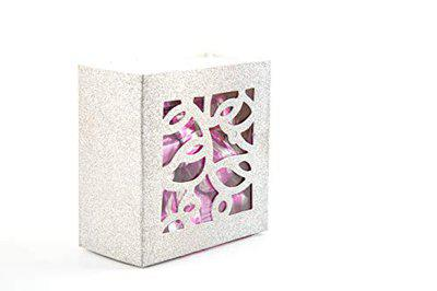 Aarmella Dark Chocolate Filled with A Butterscotch Silver Square Box-(125-Gram)