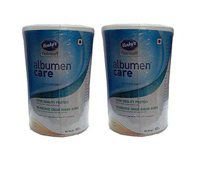 Venkys Nutrition Albumen Care Health Supplement With Glutamine Good Quality Protein BCAA (Pack of 2, Mango)