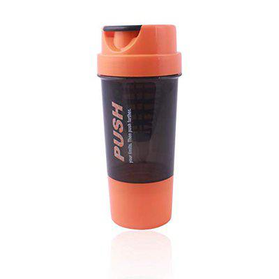 VELLORA Never Give Up Gym Bottle with Cyclone Cone (Bpa Free, Non-Toxic Made, Leak Proof)