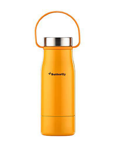 Butterfly Leisure Bottle Style Vacuum Flask, 750 ml, Evening Yellow