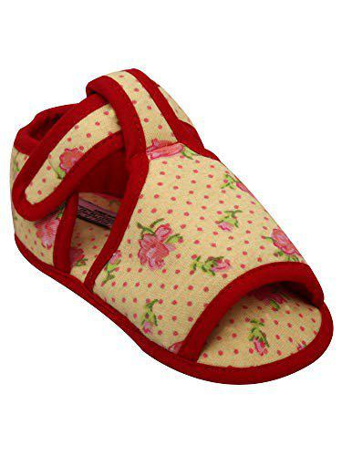 D'chica The Cutest Yellow Soft Sole Sandals for Girls
