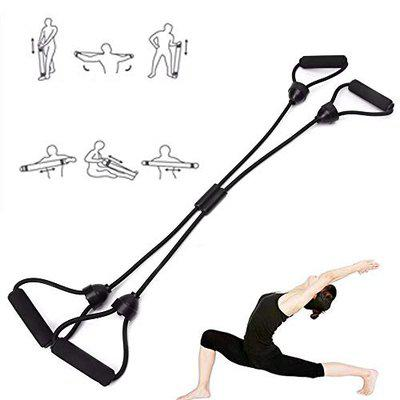 IRIS Fitness Cross Workout Pilates Reformer Exercise Resistance Cords Loop Tube Bands