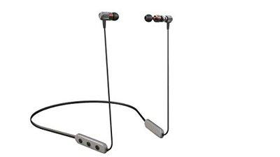 Corseca Hoop3 Bluetooth Stereo Wireless Sports Earphone with Built-in Mic Magnetic Buds (Grey)