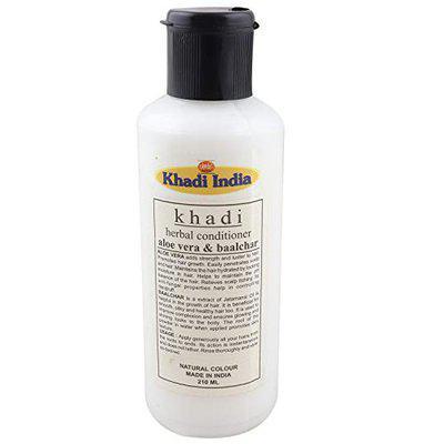 Khadi India Herbal Conditioner with Aloe Vera & Balchar 210 ml