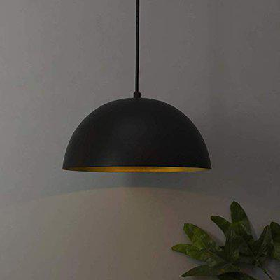 Vrct Metallic Black Pendant Hanging Light, Hanging Lamp 10, Hanging Lights for Ceiling, Decorative Lights for Home, Ceiling Lights Hanging for Living Room