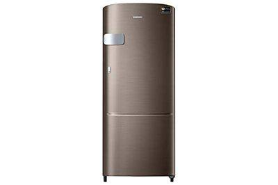 Samsung 192 L 4 Star Direct-Cool Direct Cool One-Door Refrigerators (RR20R1Y2YDX/HL, LUXE Brown)(Non-Convertible)