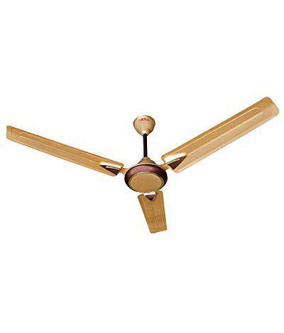 ACTIVA 1200MM 390 RPM HIGH Speed BEE Approved 5 Star Rated (100% Copper) Anti DUST Coating Galaxy-1 Ceiling Fan Golden Beige_2 Year Warranty