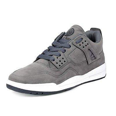 Bacca Bucci Men Grey Solid Suede Mid-top Sneakers