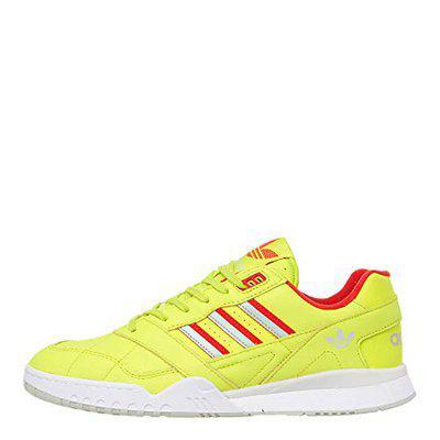 Adidas Men's A.R. Trainer Sesoye/Lusred/Vapgrn Sneakers (44 2/3 EU) (10.) (DB2736)
