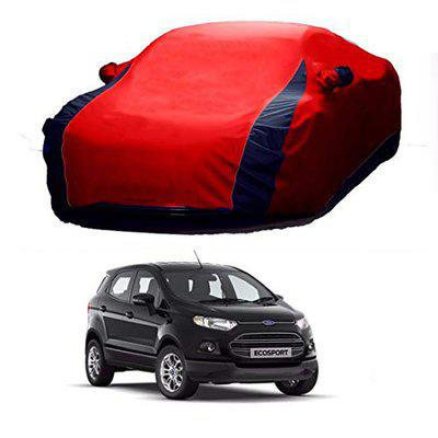 AVSHUB Lively Water Resistant Car Body Cover for Ford Ecosport (Red & Blue)