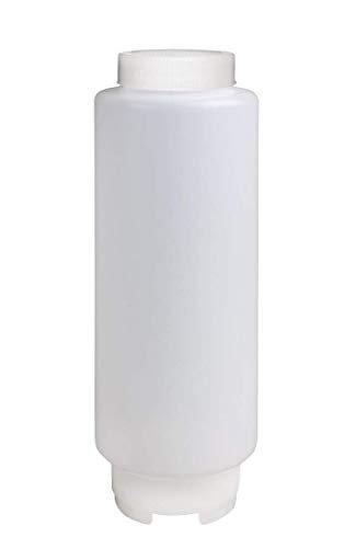 Bridge2shopping Plastic Squeeze Dispenser Bottle - 16 oz, Transparent