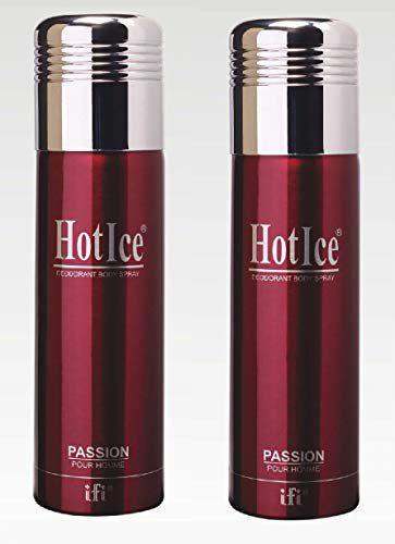 Hot Ice Passion Men Deodorant Spray 200 ml Pack Of 2