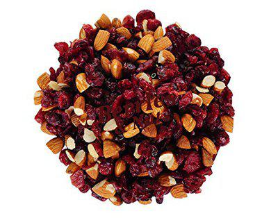 Berries And Nuts Cranberry & Almonds Trail Mix   Healthy Blend, Antioxidant Rich   200 Grams